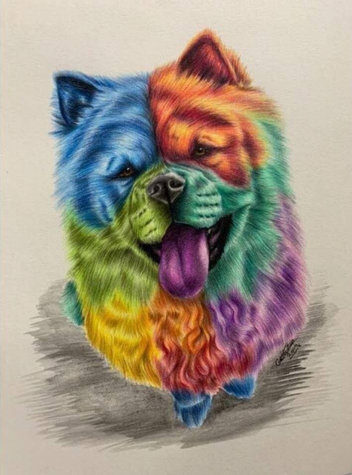 Животные карандашом (4)