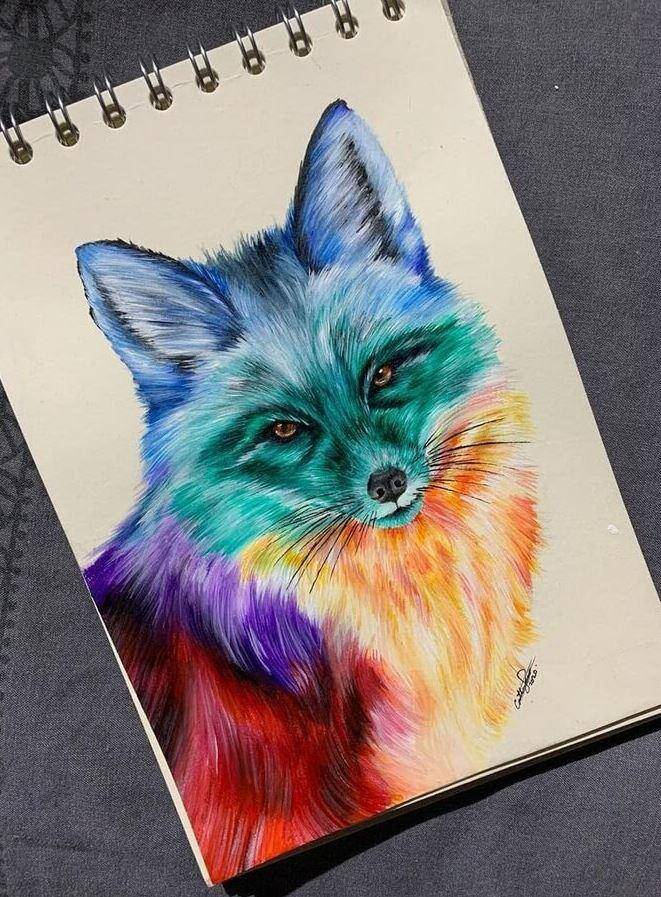 Животные карандашом (5)